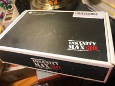 Beachbody Shaun T's INSANITY:MAX 30 Workout Base Kit 11 DVDs Guides Poster!!