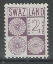 SWAZILAND SGD14 1971 2c POSTAGE DUE MNH