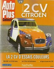 AUTO PLUS COLLECTION 2CV CITROEN 18 LA 2CV D'ESSAIS COULEURS CITROEN 2CV AZ