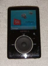 SanDisk Sansa Fuze (4GB) Digital Media MP3 Player Black. Works great, fair cond