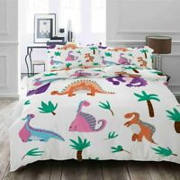 Dinosaur Big Times 3D Printing Duvet Quilt Doona Covers Pillow Case Bedding Sets