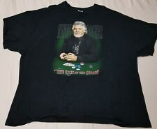 Vintage Kenny Rogers Gambler The Luck of the Draw T-Shirt Men 3XL Country Music
