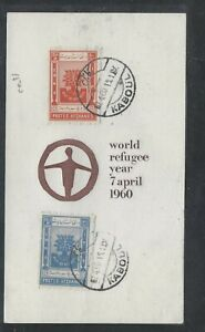AFGHANISTAN (P0209B)  1960  WRY CACHETED FDC