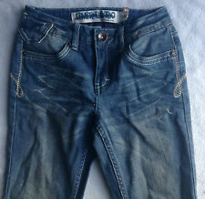 LIMITED TOO SKINNY LEGS DENIM JEANS SARKLE PANTS IN SIZE 10 NWOT