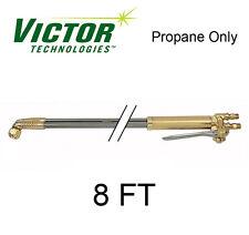 Victor Bulldog Cutting Torch Oxygen Propane, HC1191C, 8 Ft X 75 Deg