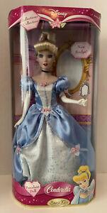 Disney Reflections Collection Brass Key Porcelain Doll: Cinderella