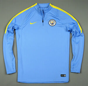 Manchester City Nike Tracksuit Training Top Size L