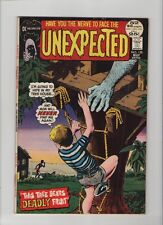 Unexpected #135 - Tree Bears Deadly Fruit - 1972 (Grade 5.5) WH