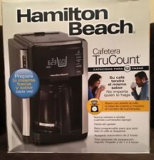 Hamilton Beach 45300 Trucount 12 Cup Programmable Coffee Maker Black