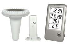 La Crosse Technology  WS9068 Station de température avec sonde pour piscine - Ar