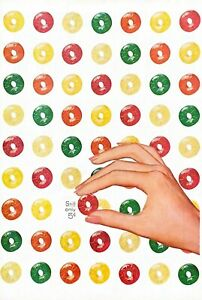 1956 Lifesavers Candy Vintage Print Ad Still Only 5 Cents