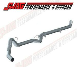 """01-07 GM 6.6 6.6L Duramax Diesel MBRP 4"""" Aluminized Exhaust Kit W/ Polished Tip"""