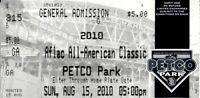 2010 AFLAC All-American baseball game ticket stub (Javier Baez Francisco Lindor)
