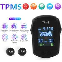 Waterproof Motorcycle TPMS External Sensor Tire Tyre Pressure Monitoring System