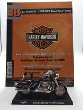 moto miniature harley davidson 1550 hvo road king 2002 1/18 n38/50 fascicule