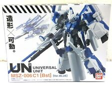 BANDAI GUNDAM UN2 UNIVERSAL UNIT MSZ-006 C1 [Bst] Ver. BLUE ACTION FIGURE