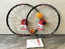 "Fulcrum Red Metal XRP 650b 27.5"" MTB wheelset centerlock, carbon hubs, tubeless"