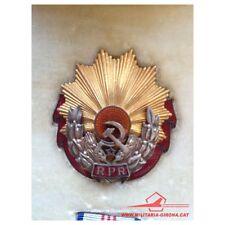 ROMANIA ORDER OF LABOUR 1st CLASS (1947-1965) RPR RED ENAMEL W/ORIGINAL BOX RARE