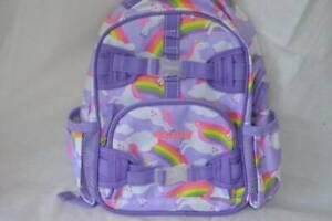 Pottery Barn Kids Mackenzie Backpack Mini PreK Summer Unicorn Emma Monogramed