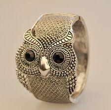 Eulen Armreif Armband  Armspange Eule Uhu Kauz Blogger Gothic Vogel