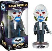 BATMAN The Dark Knight WACKY WOBBLER Bobble-Head - THE JOKER [BANK ROBBER]