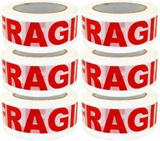 Fragile Tape Sealing Tape Packing Printing Tape 2 Inch X 330 Ft 110 Yards 6x