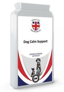 K9-Calm Pet Calming 120 Chicken Flavour Tablets Private/White Label Tough 1157