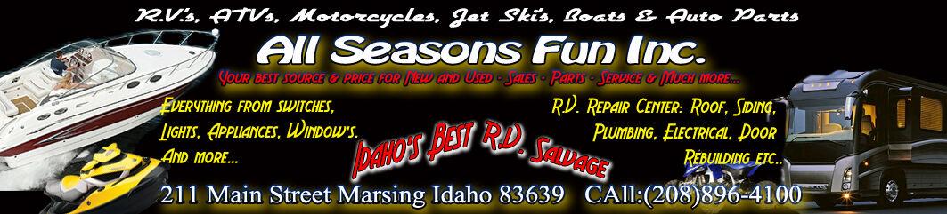 All Seasons Fun RV Salvage and more