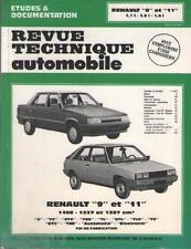 RTA Revue Technique Automobile : Renault 9 &  11 - 1108 - 1237 & 1397 cm3