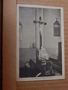 Postcard St Gregory's Longton Stoke On Trent The pieta unposted