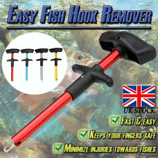 Easy Fish Hook Remover T-Handle Extractor Detacher Fishing Tackle Tool Portable