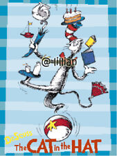 DR SEUSS CAT IN THE HAT JUGGLING COLOR Cross Stitch PATTERN