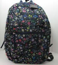 "Cynthia Rowley ""Brand New"" Flower Print Backpack Bookbag Shoulderpack"