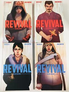 REVIVAL DELUXE EDITION VOL 1,2,3,4 HARDCOVERS IMAGE 2013 SEELEY NORTON OOP HTF