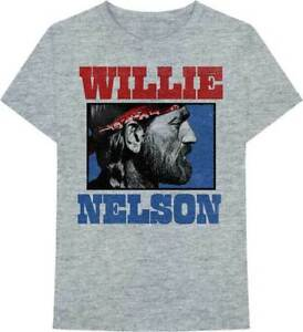 Zion Rootswear Willie Nelson Stare Photo Outlaw Country Music T Shirt ZRWN1064