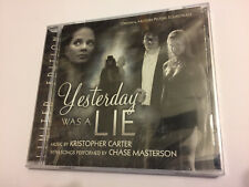 YESTERDAY WAS A LIE (Carter) OOP La-La Ltd (1000) Score OST Soundtrack CD SEALED