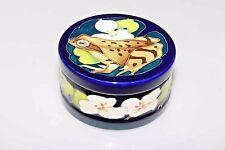 """RARE Moorcroft """"RANA"""" prova Ciondolo Box e coperchio Prima Qualità vendita al dettaglio £ 360.00"""