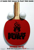 Bälle Von Fury (Zweiseitig Advance) Original Filmposter