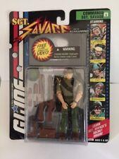 GI Joe A Real American Hero Sgt Savage Screaming Eagles Figure VHS Video 1994