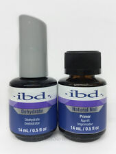 IBD duo - Natural Nail PRIMER + DEHYDRATE Nail Dehydrator  .5oz