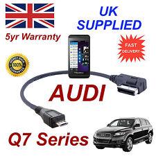 Audi Q7 Series 4F0051510M Cable para Blackberry Z10 Micro USB de 30cm
