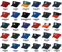 MLB Official Replica Baseball Visor Various Team Hat Adjustable MLB Licensed