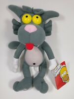 "2018 Toy Factory | The Simpsons Scratchy Show Cat 13"" Plush Toy Doll!!"