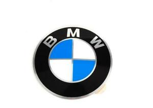 NEW OEM GENUINE BMW CENTER ALLOY WHEEL WITH ADHESIVE STICKER EMBLEM 64,5MM