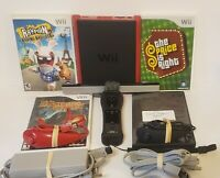 Nintendo Wii Mini Mario Kart Bundle Console Video Game System tested