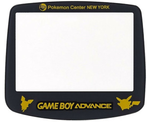 Gameboy Advance Pokemon Center New York REAL GLASS Screen Cover Lens AGS-001