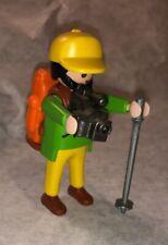 Playmobil 3744 Hiker Backpacker Camera Photographer Figure Rare!