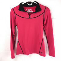 New Balance long sleeve running shirt women's small lightning dry 1/4 zip clth2