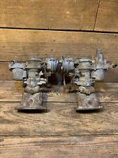 Vw Solex Carburetors 32 34 Pdsit 2 3 Beetle Bus Manifolds Pair Dual Motor Used