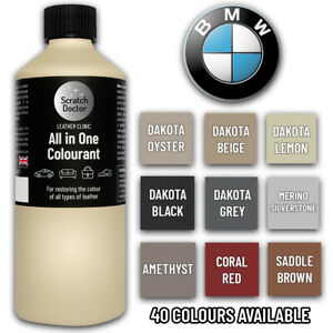 BMW Leather Dye 250ML All In One Colourant Touch Up Paint For BMW Car Leather.